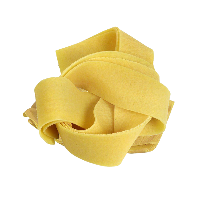 Pappardelle gialle