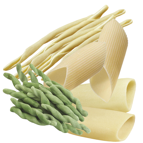 Short pasta pieces